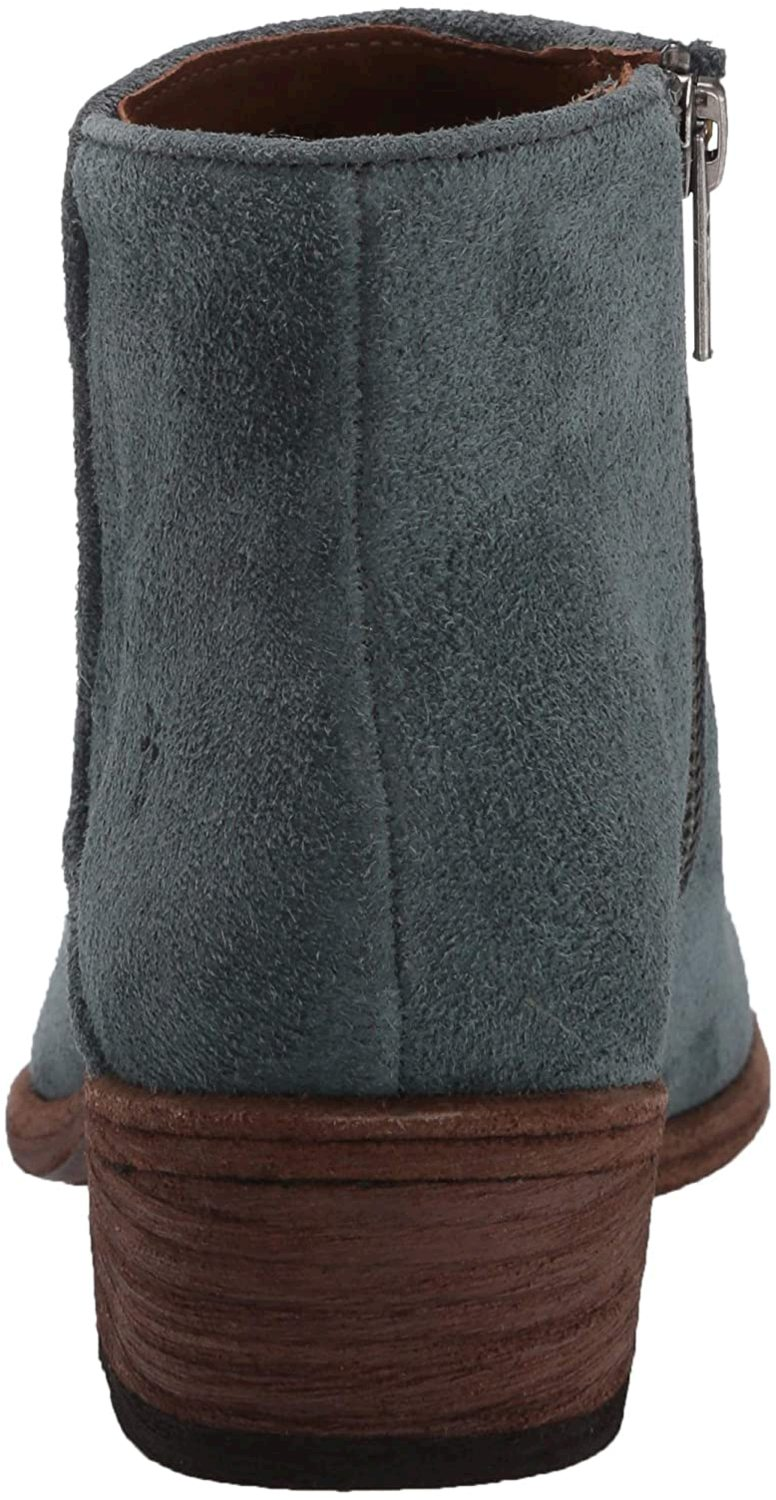 Frye Women S Carson Piping Bootie Ankle Boot Sea Pine