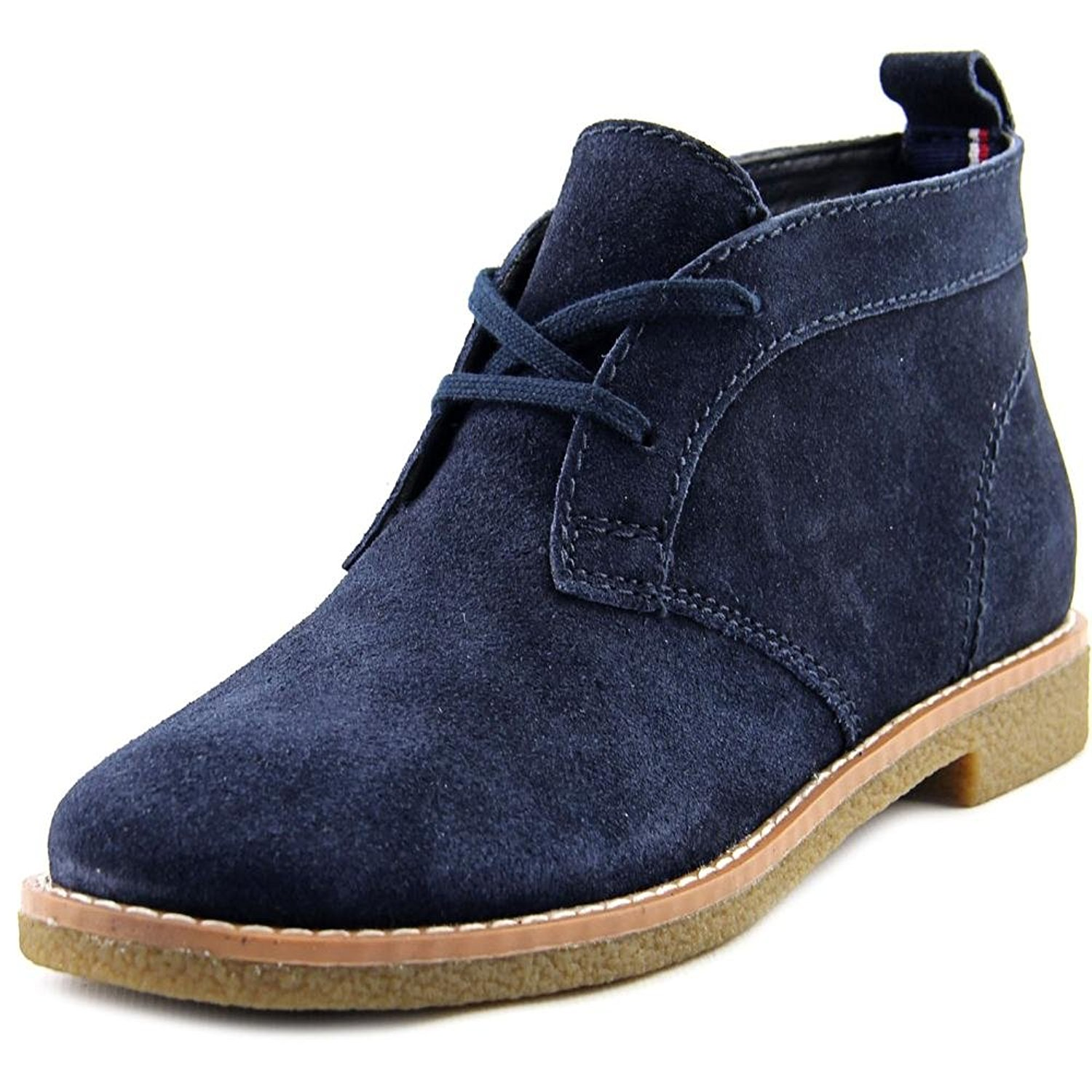 Womens Blaze Leather Closed Toe Ankle Fashion Boots