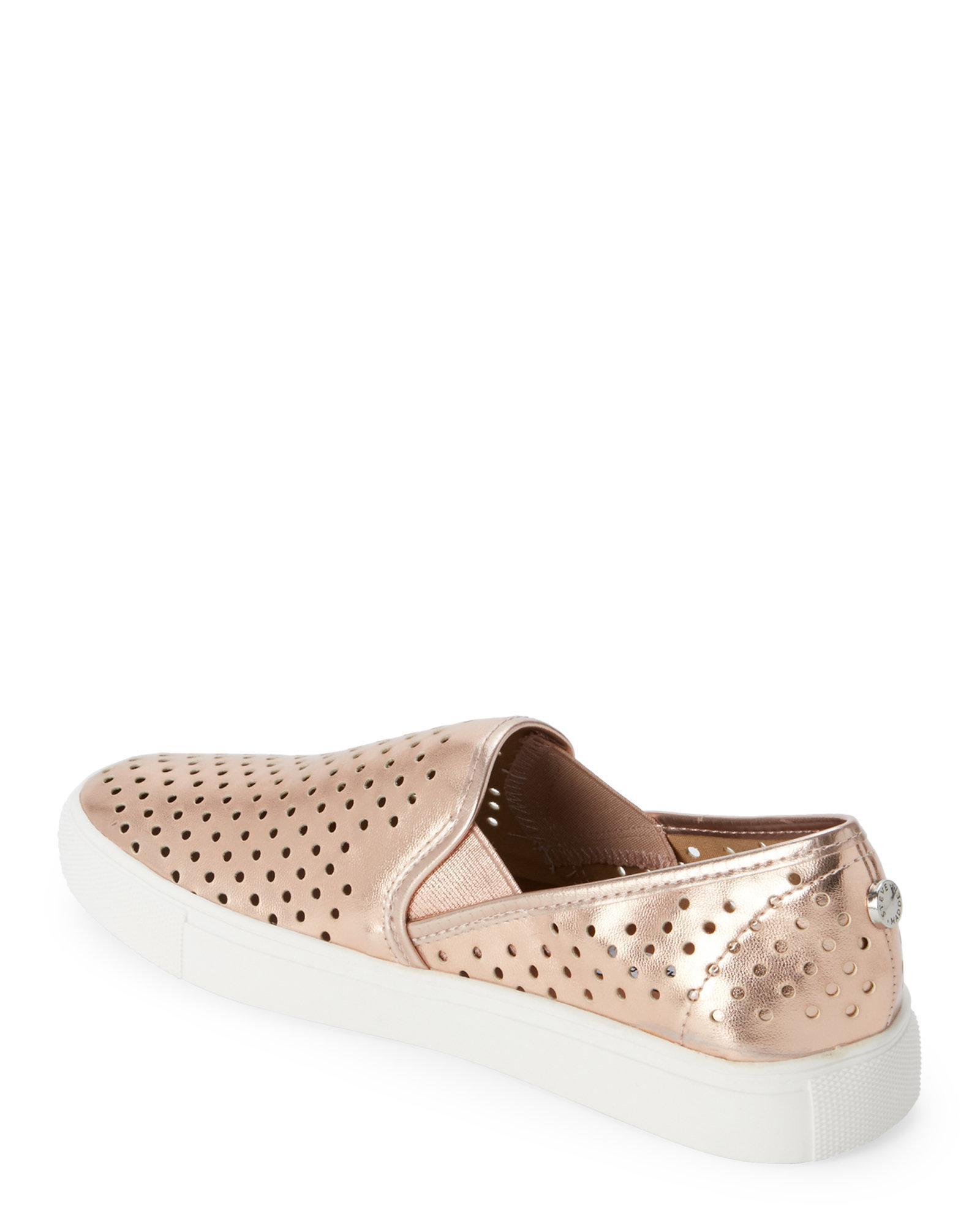 STEVEN by Steve Madden owen Womens Fashion Sneakers rose gold 6  US / 4 UK