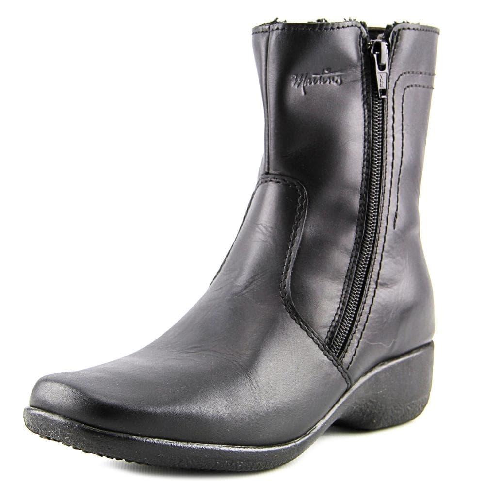 8500447d7c4 Martino Womens Jesse Square Toe Ankle Rainboots