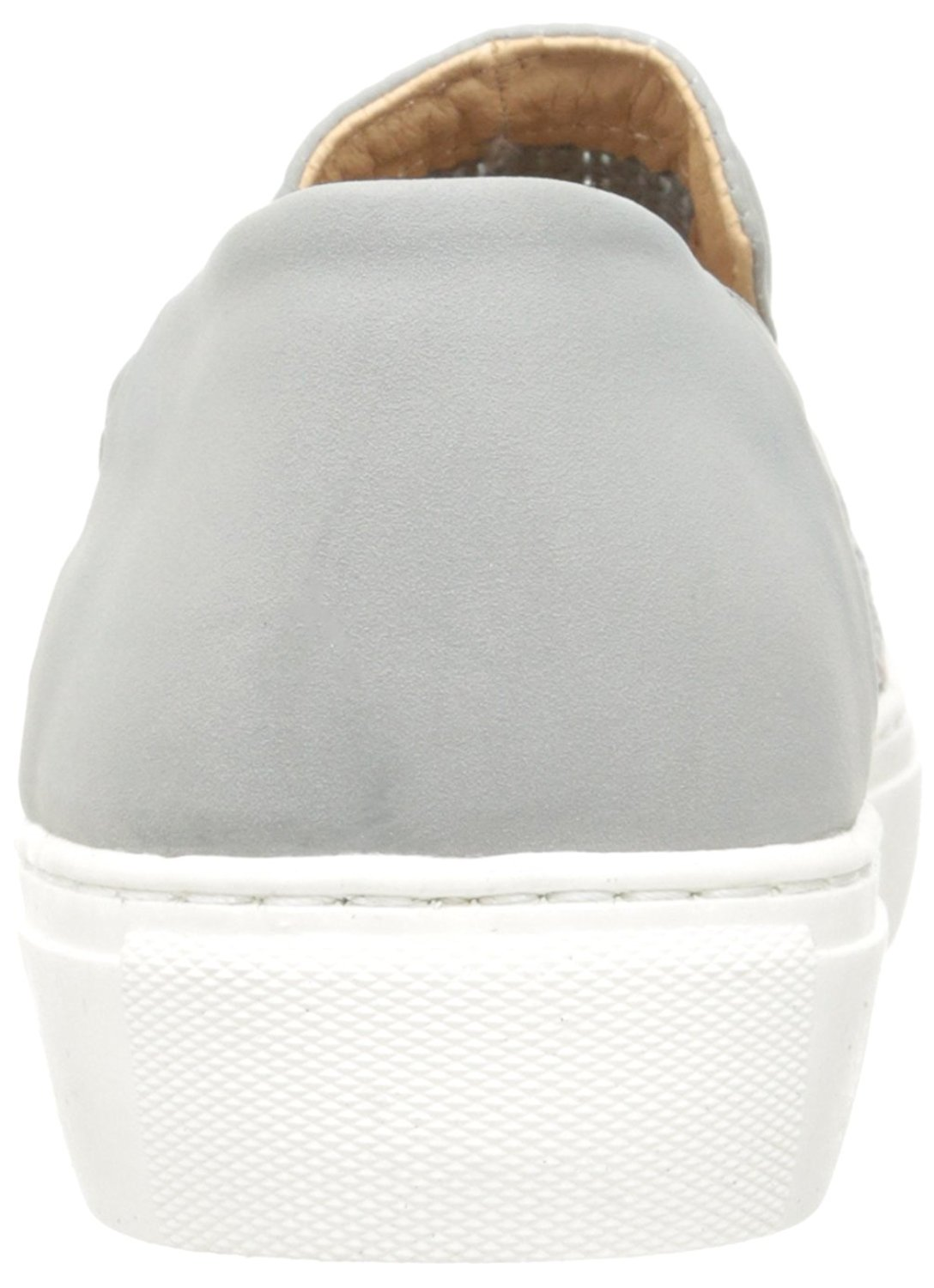 62137b4c32f Details about STEVEN by Steve Madden Womens Kenner Leather Low Top Slip On,  Grey, Size 9.5 uFE