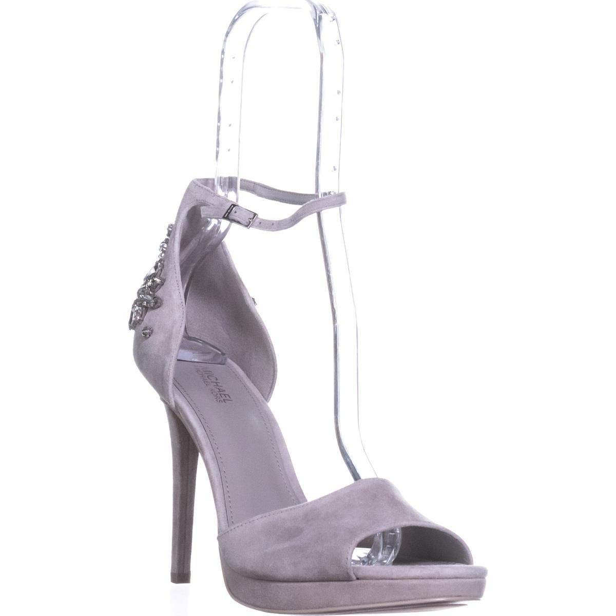 970d246cc4d Details about MICHAEL Michael Kors Women's Patti Jeweled Platform Sandal,  Grey, Size 9.0 mPRU