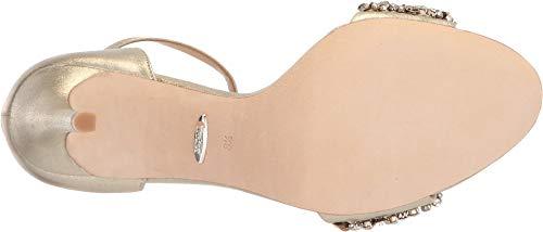 F1vk Ii Veil Mischka con tacco 7 Badgley Sandalo Us UK Women's 0 taglia 5 oro qtZyAtcP