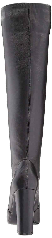 c99698fd23d Steve Madden Womens Eton Leather Almond Toe Knee High
