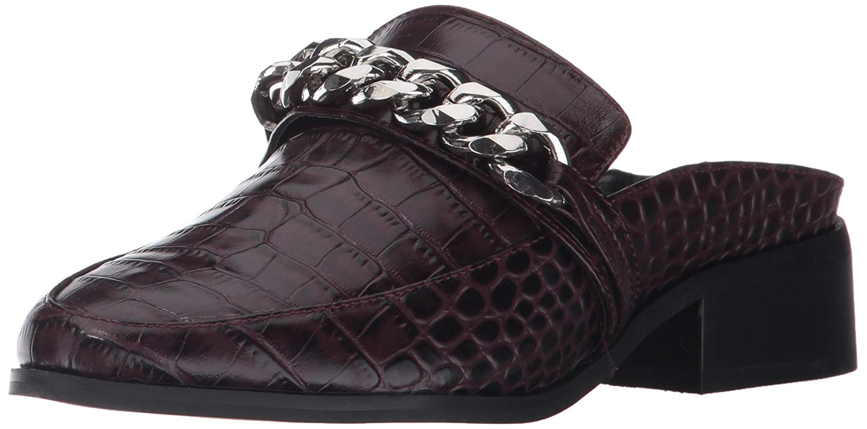 Steven Steven Steven by Steve Madden mujer Swanki Leather Almond Toe Loafers  ordene ahora los precios más bajos