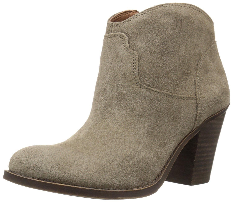 Lucky Brand Damenschuhe LK-Eller Almond Toe Ankle Fashion Stiefel, Brindle, Größe 10.0 U