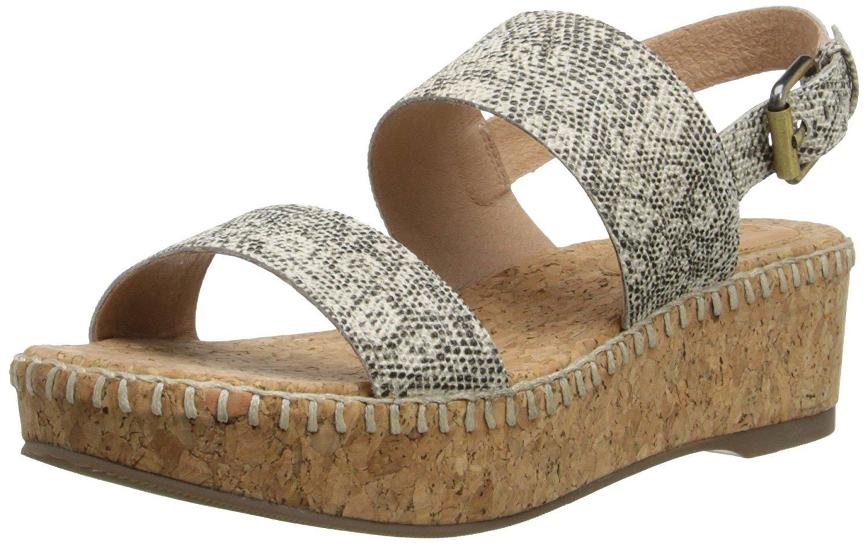 Corso Como Sandy Womens Platform Sandals Natural Multi 9.5  US   7.5 UK