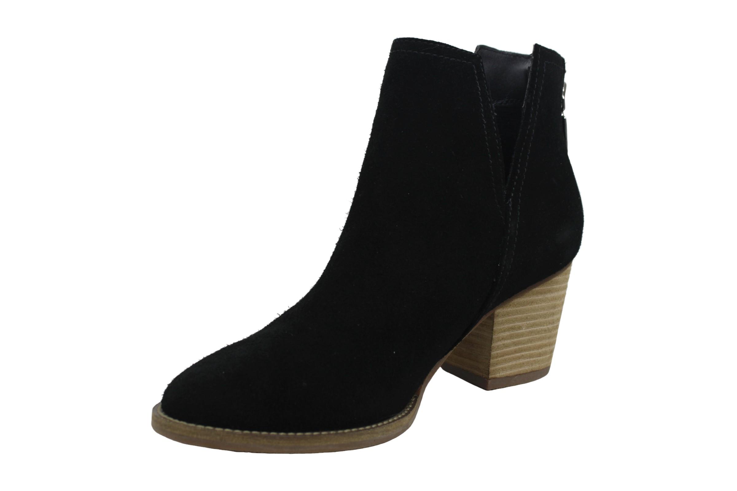 Aqua College Womens Naomi Leather Closed Toe Ankle Fashion Boots