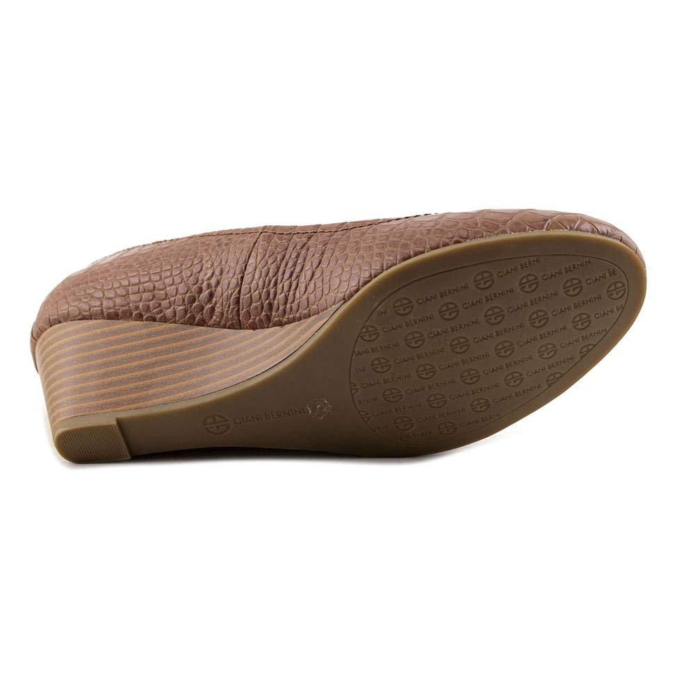 Giani Bernini Jileen W Open Toe Synthetic Wedge Heel