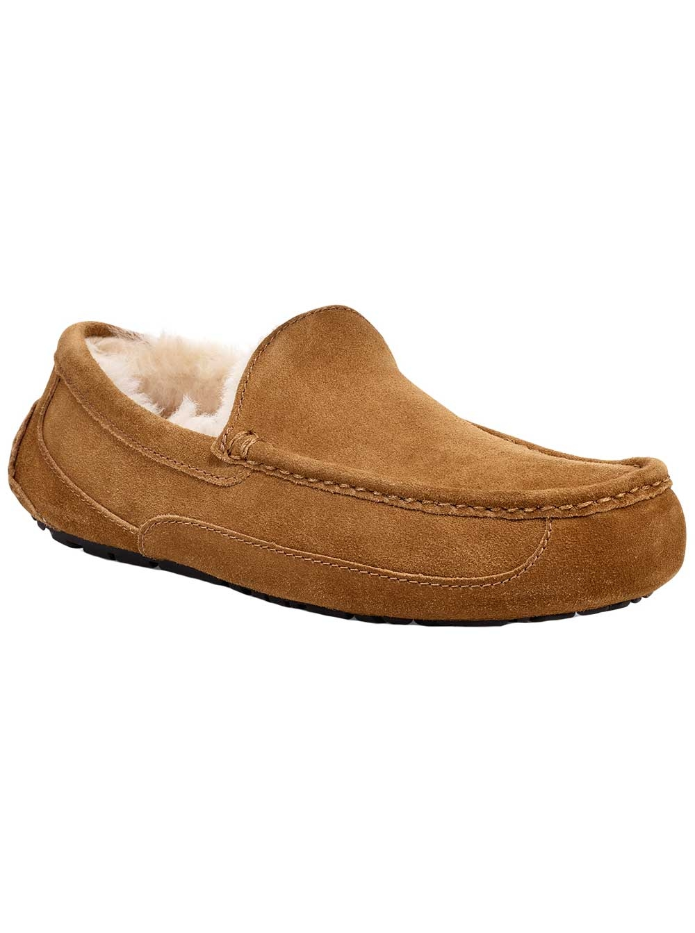 b85b115fe Ugg Australia Mens Ascot Suede Closed Toe Slip On Slippers