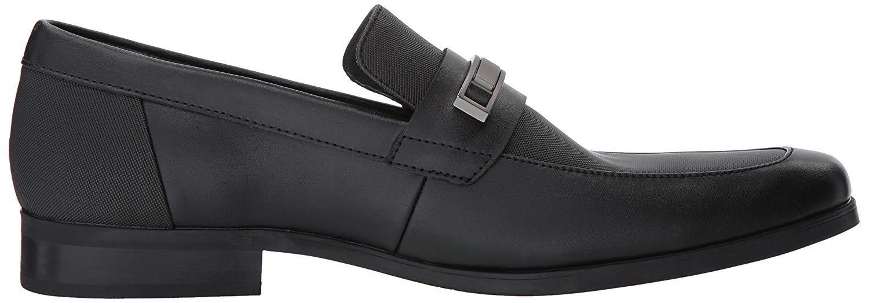 Calvin-Klein-Men-039-s-Jameson-Soft-Leather-City-Emboss-Slip-On-Loafer thumbnail 12