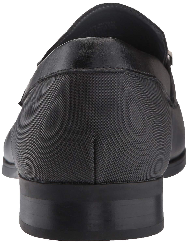 Calvin-Klein-Men-039-s-Jameson-Soft-Leather-City-Emboss-Slip-On-Loafer thumbnail 9