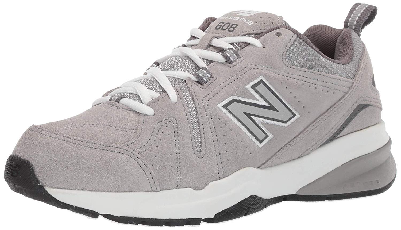 44d4db7efb10d New Balance Mens MX608 Low Top Lace Up Walking Shoes, Grey, Size 10.0 d30O