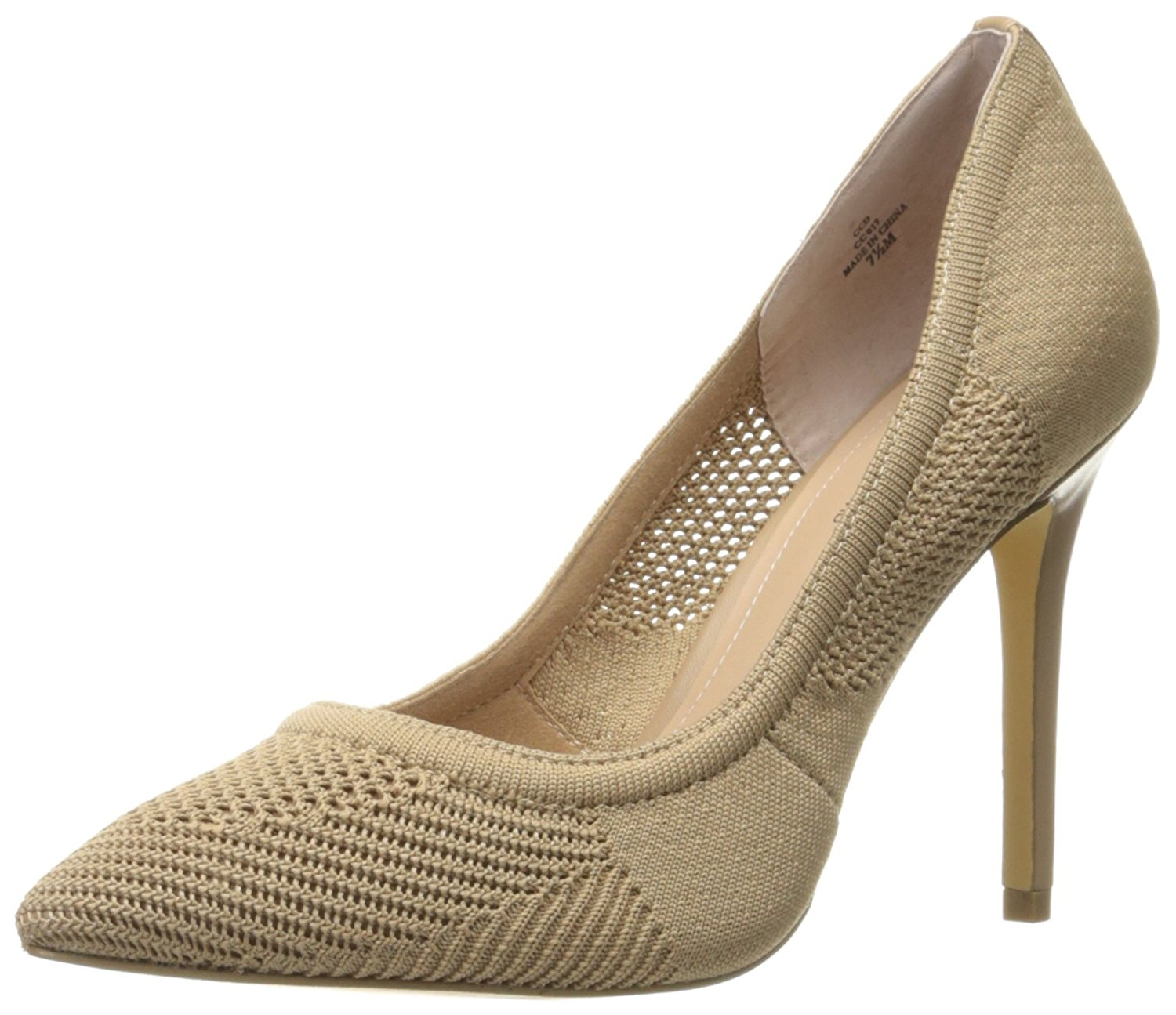 Charles by Charles David Womens CCDPACEY Fabric Pointed Toe Tan Size 11.0
