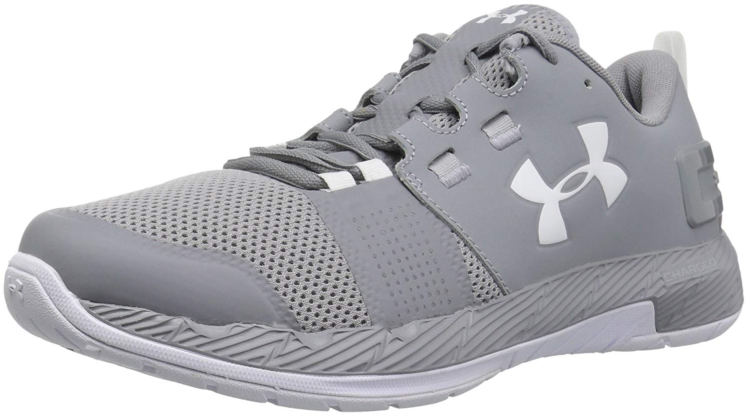 fdbc4827 Details about Under Armour Men's Commit Tr X Nm Sneaker, Steel (101)/White,  Size 8.5 JHz1