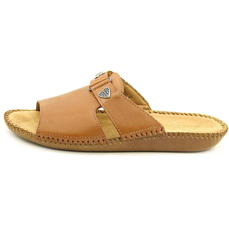 Auditions Womens Sparkle Leather Open Toe Casual Slide Sandals Diversifizierte Neueste Designs Sandalen Damenschuhe