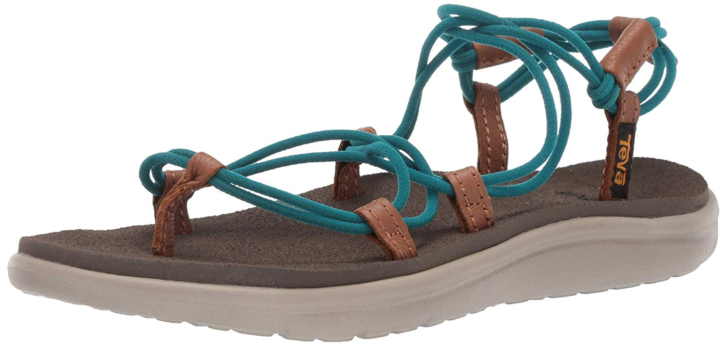 Teva Women/'s Voya Infinity Metallic Ankle-High Sandal