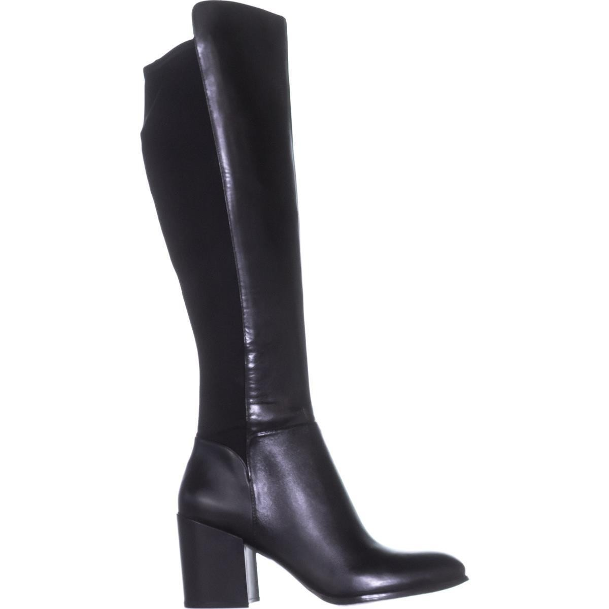 ccb004968a0 Marc Fisher Womens Lacole Leather Closed Toe Knee High Fashion ...