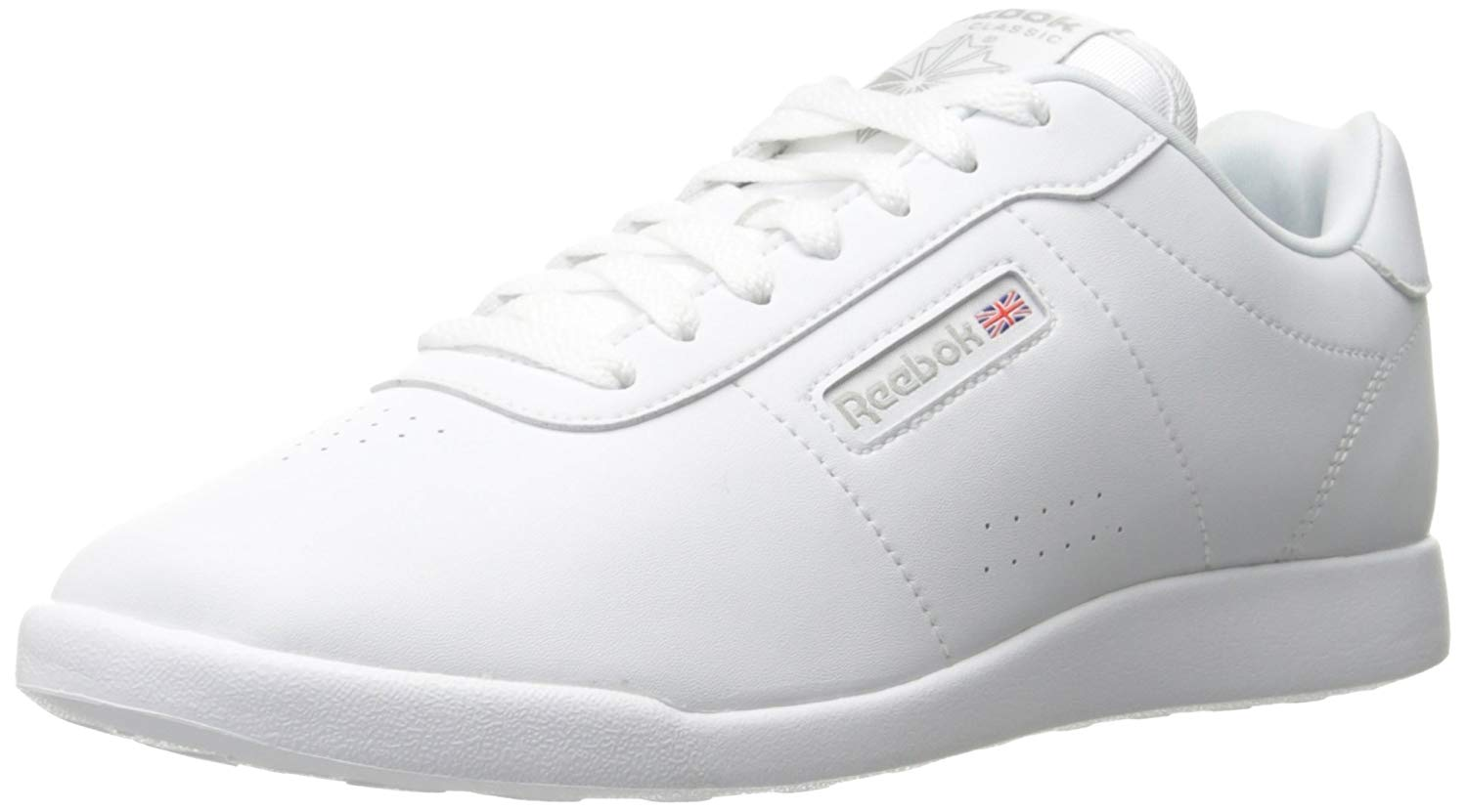 2ea2abb5dc5 Details about Reebok Princess Womens Fashion Sneakers White 9 US   7 UK