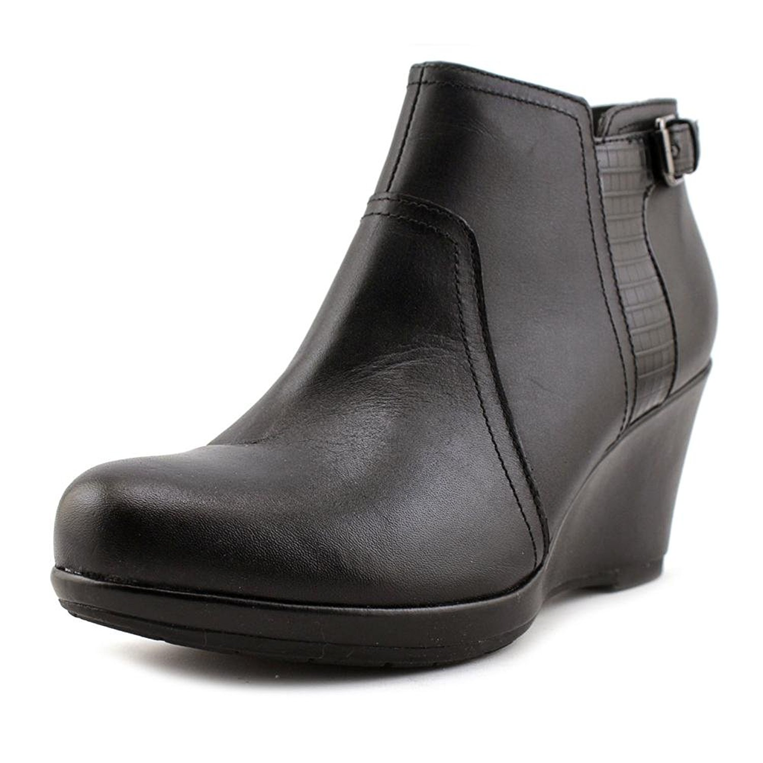 Womens Camryn Rose Closed Toe Ankle Fashion Boots