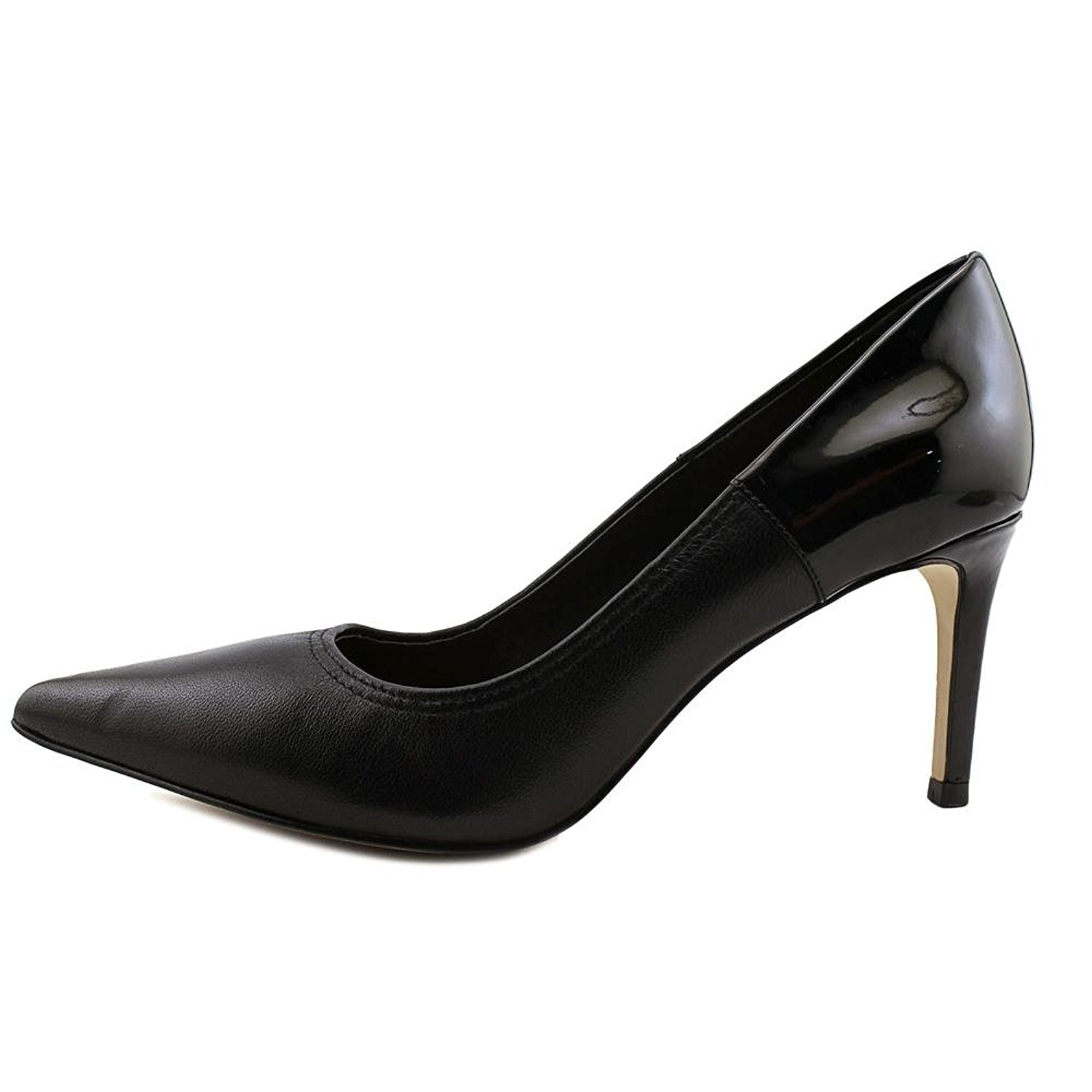 Tahari Womens Peyton Pointed Toe Classic Pumps Black Size 75