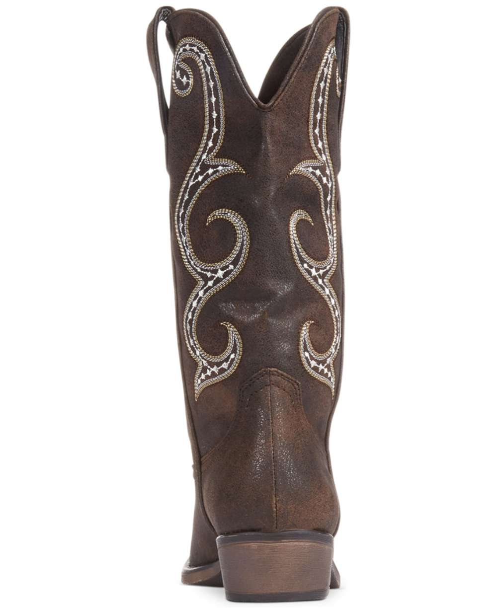 98632fc757e Details about American Rag Womens DAWNN Pointed Toe Mid-Calf Cowboy Boots,  Brown, Size 5.0 fnk