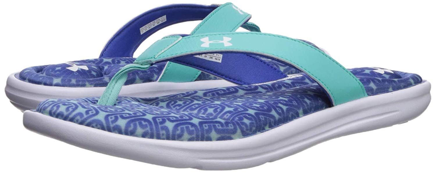 Under Armour Womens Marbella Oval Vi Thong Flip-Flop -3491