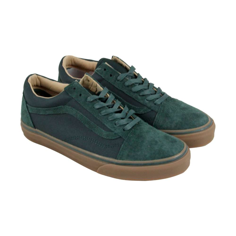 Zapatillas Vans Para Mujer Old Skool Reissue Gamuza Low Top