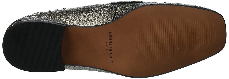 d551fba113a Kenneth Cole New York Women s Bowan 2 Slip Stud Detail Loafer Flat ...