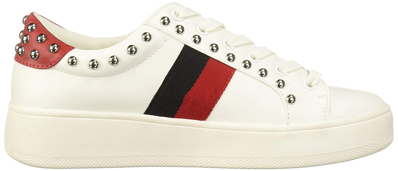 a234b414e67 Steve-Madden-Women-039-s-Belle-Sneaker-White-