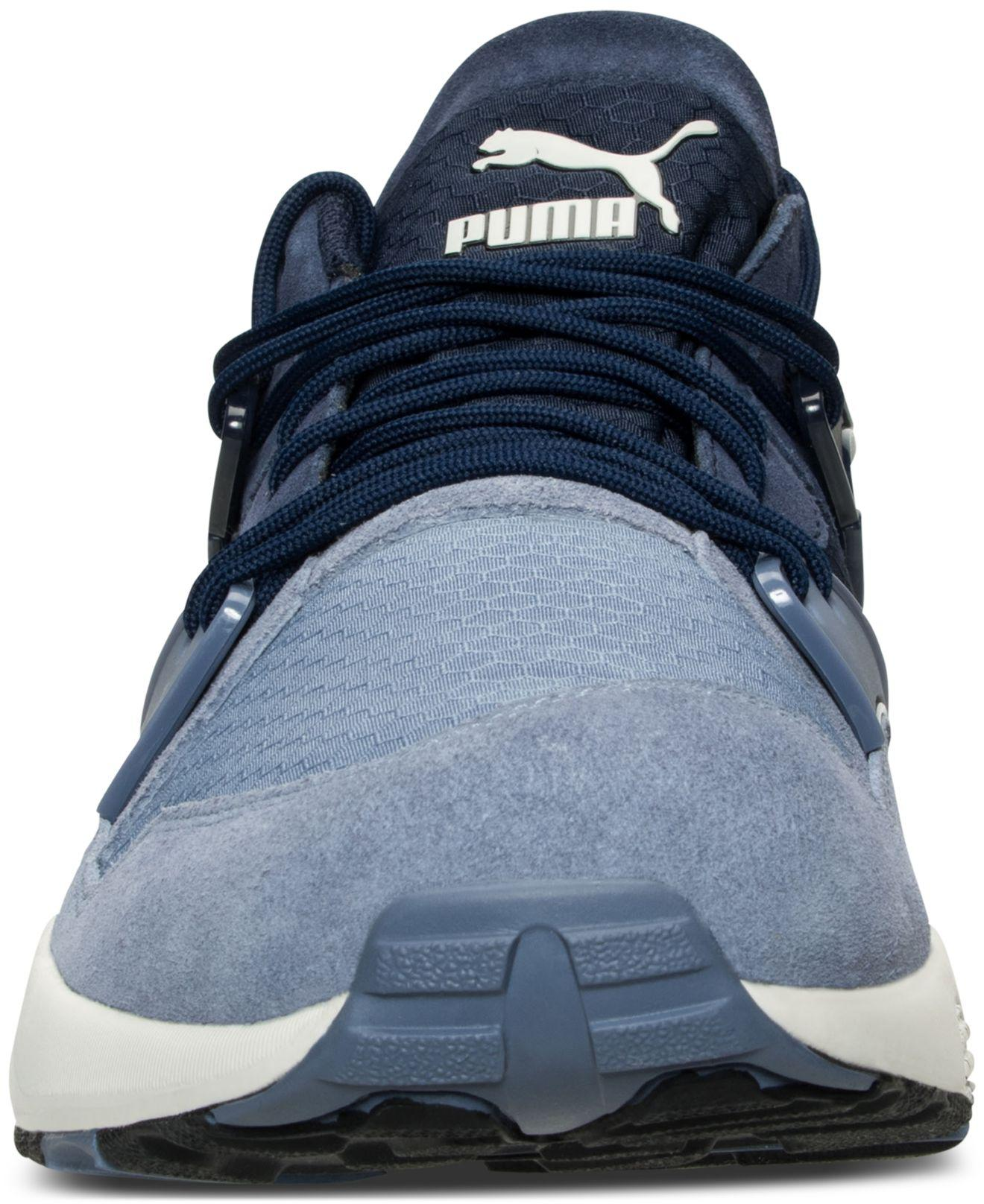 31abe93edc4147 Puma Mens Winter Blaze Tech Casual Sneakers Fabric Low Top Lace Up Running  Sn..