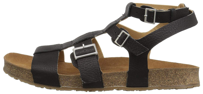 205d54214450 Haflinger Womens bio mana Fabric Open Toe Beach Ankle Strap Sandals ...