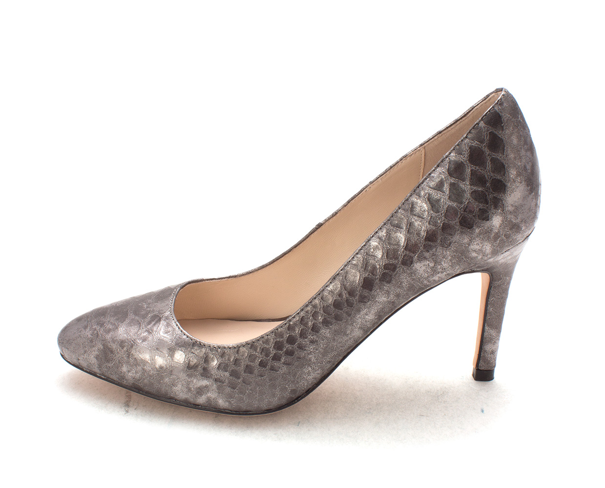 Cole Haan Womens 13A4166P Closed Toe Classic Pumps Dark Silver Size 6.0