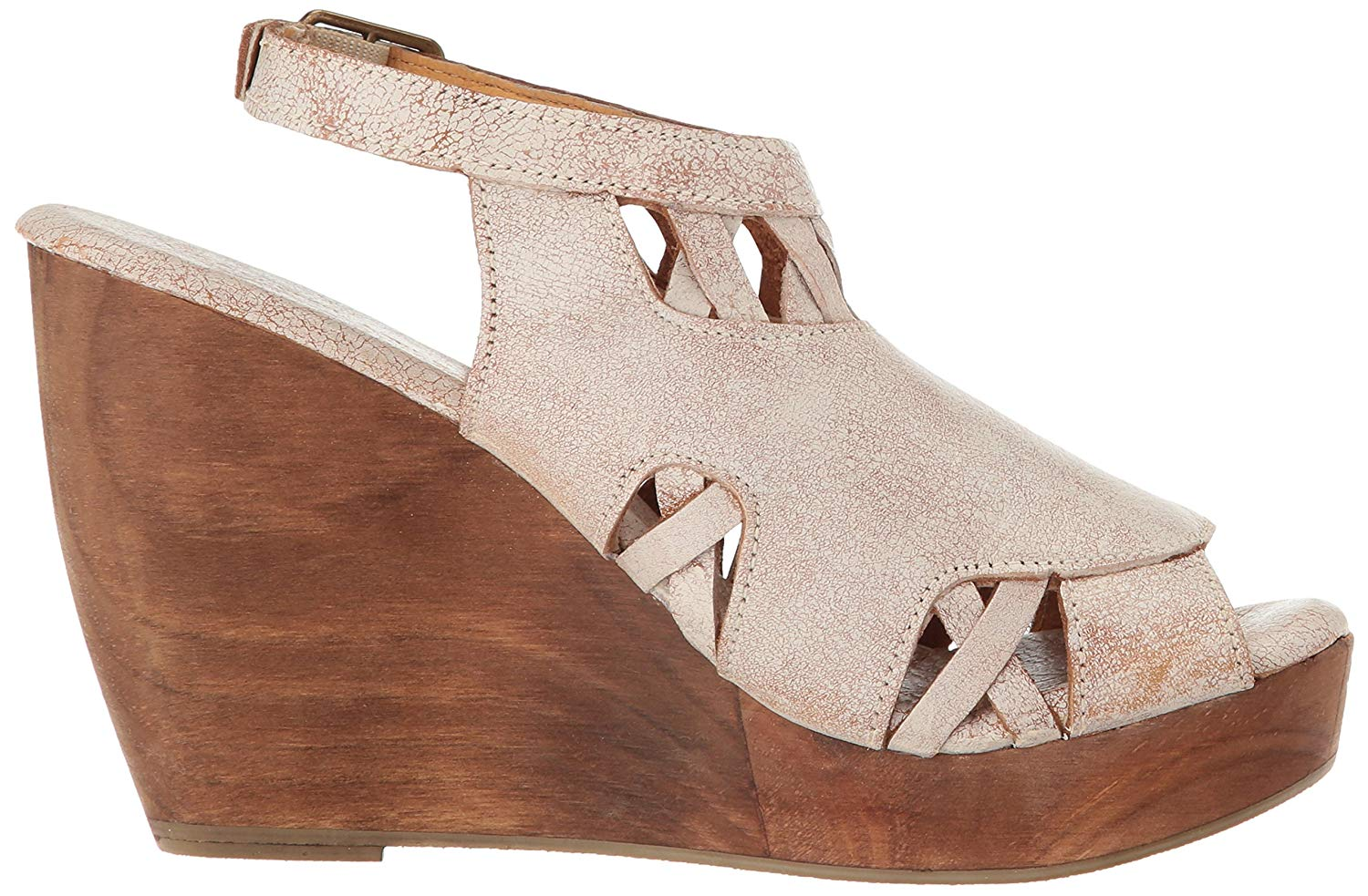 fab14fa5e8c Details about Very Volatile Women's Sloane Wedge Sandal, Off White, Size 9.0