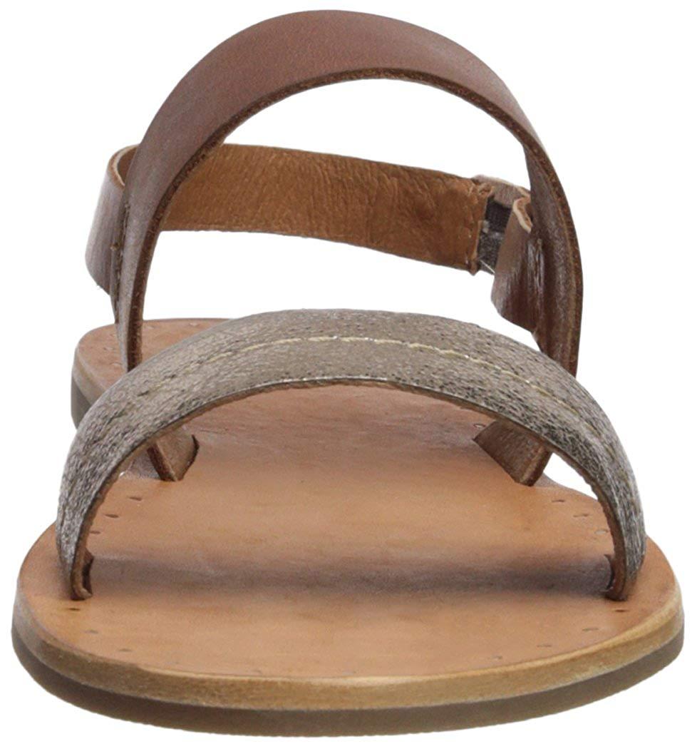 Frye Women S Ally 2 Band Sling Sandal Bronze Size 8 0