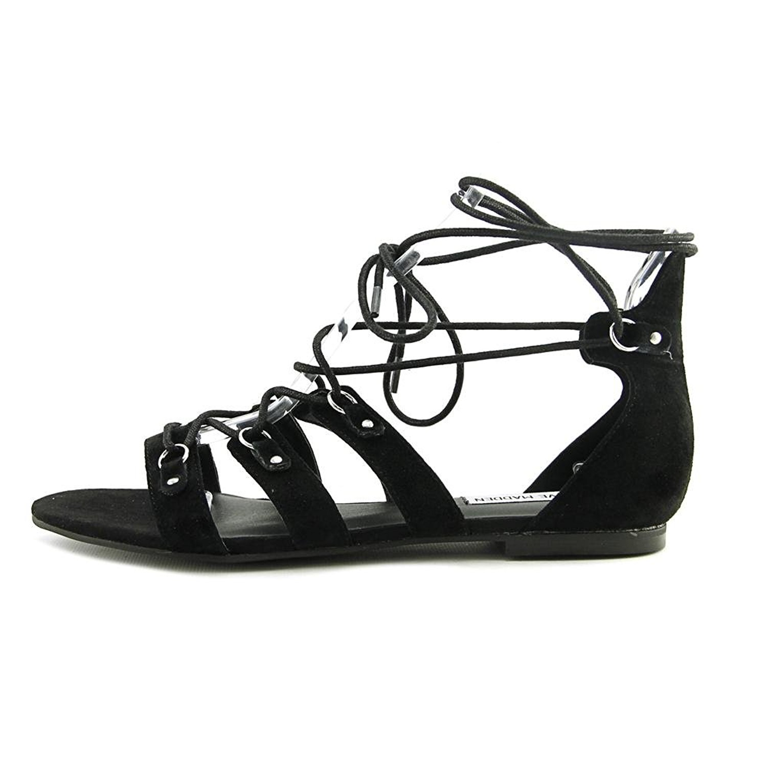 bfae5de8ca894 Details about Steve Madden Womens Carleigh Suede Open Toe Casual Gladiator  Sandals