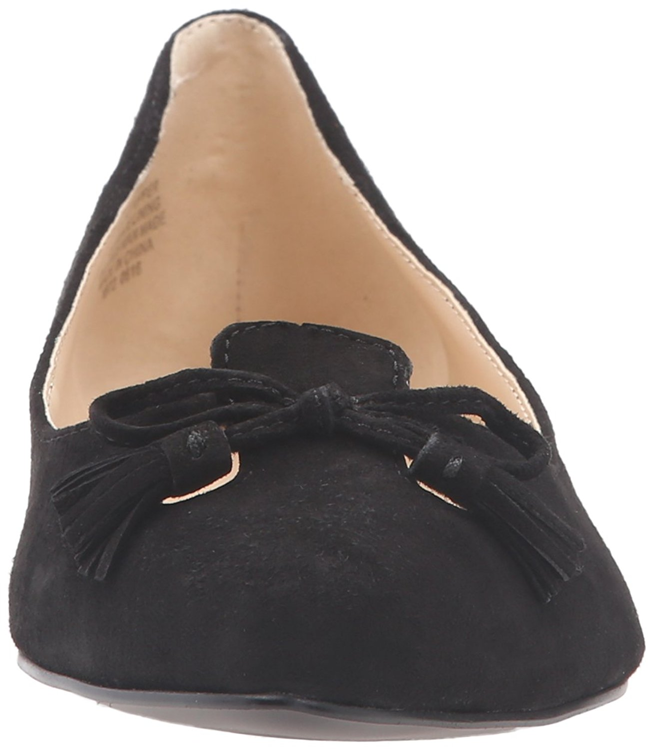 Crystal039s black ballet flats shoeplay barefoot muddy