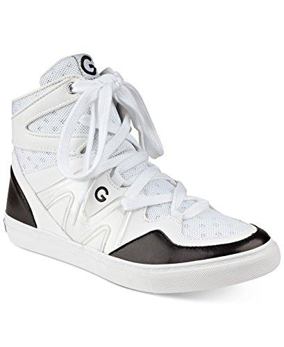 G-by-Guess-Frauen-Otrend-Fashion-Sneaker-Weiss-Groesse-6-5-US-37-5-EU