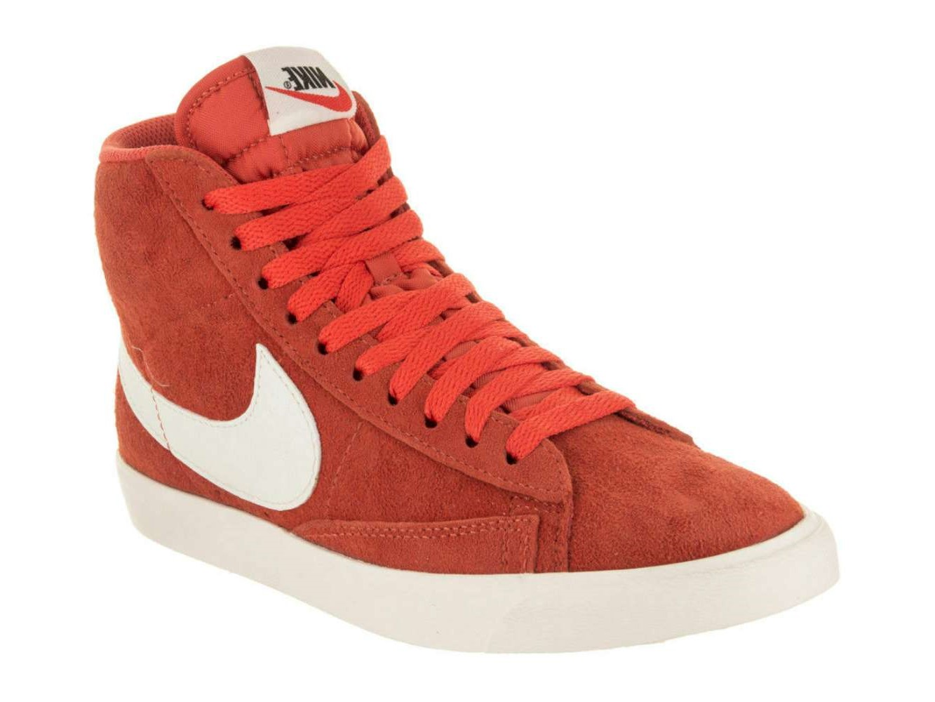 Details about Nike Womens Blazer Mid Suede Hight Top Lace Up Fashion, Orange, Size 6.0