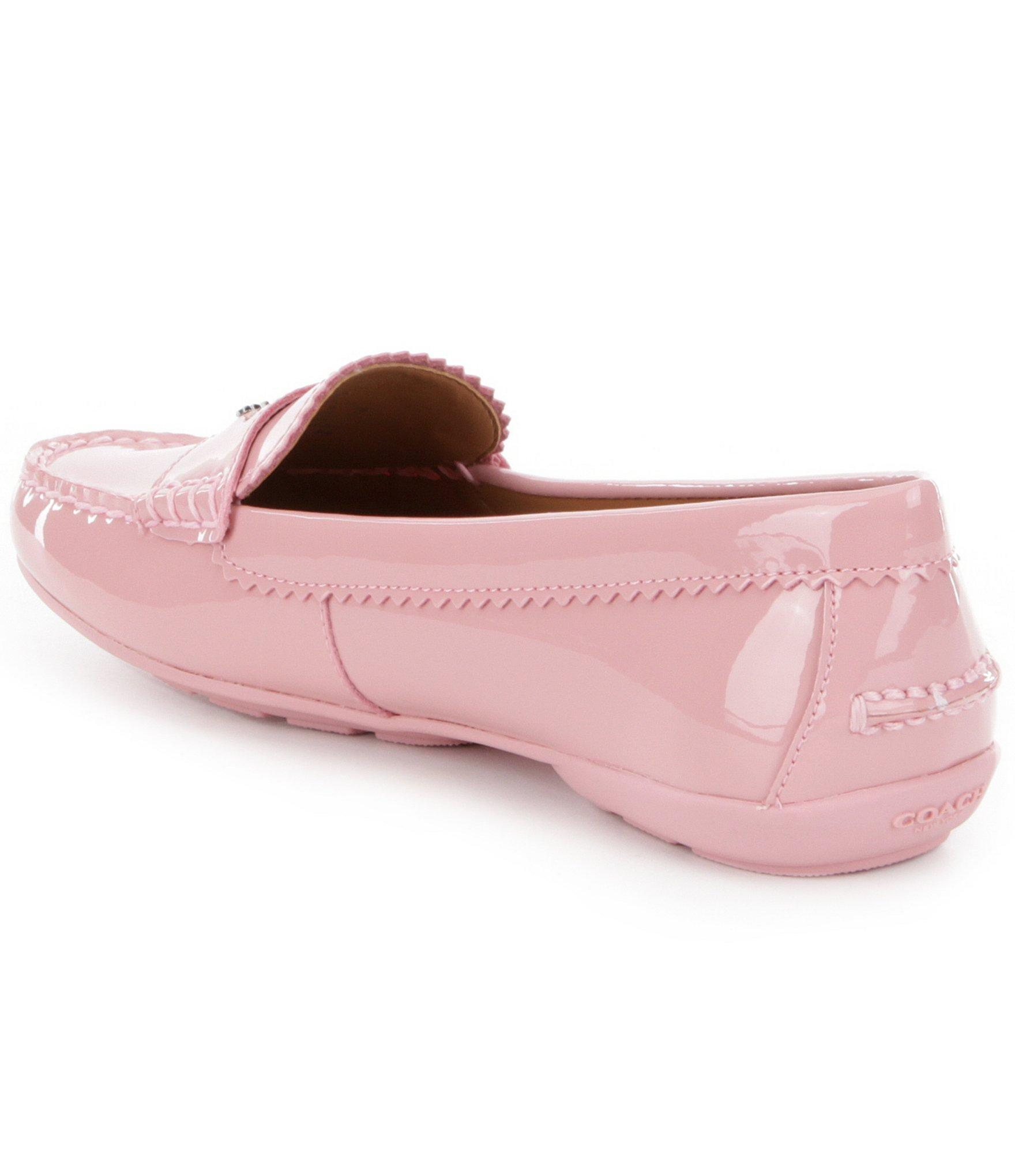 Coach Coach Womens Odette Closed Toe Loafers Loafers