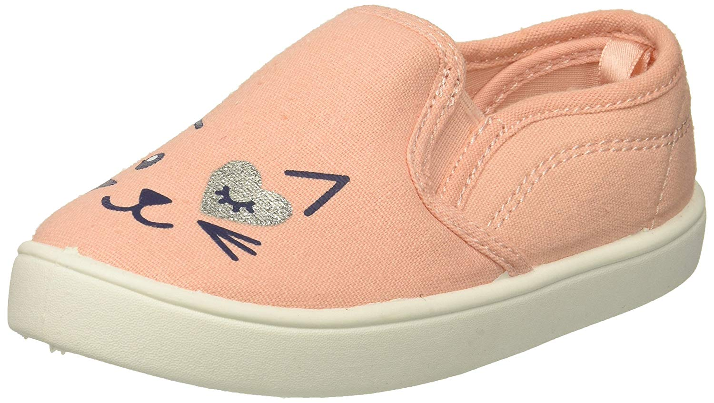 Carters Kids Girls Tween8 Pink Casual Slip-on Loafer