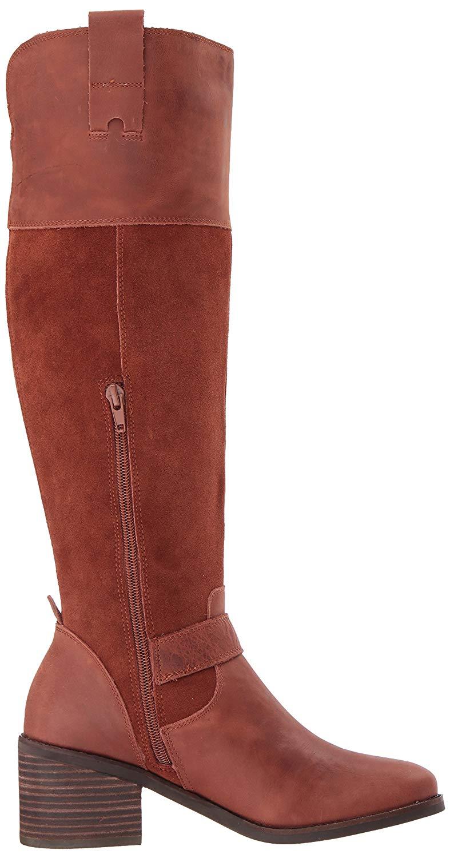 Lucky Brand Damenschuhe Kailan Leder Closed Toe Knee Stiefel High Fashion Stiefel Knee ebc000