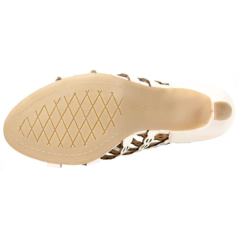 daaed00221024 Rialto Womens Roma Open Toe Casual Strappy Sandals