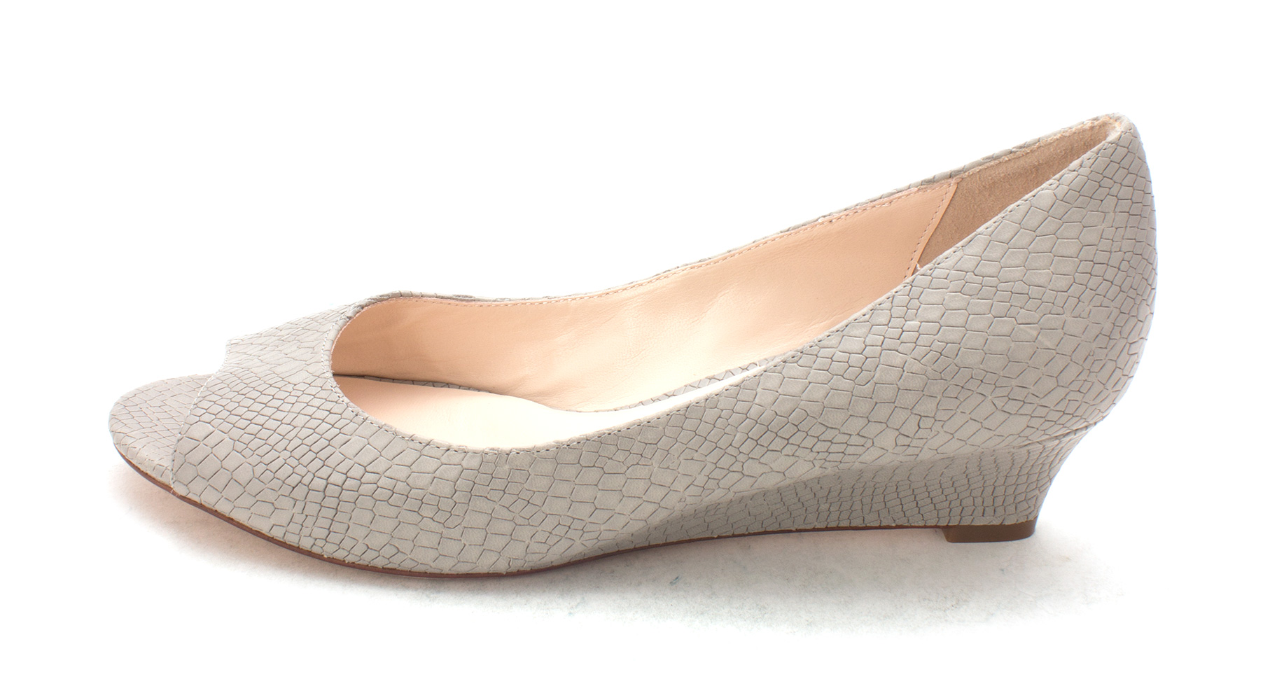 Cole Haan Womens 14A4016 Peep Toe Wedge Pumps Paloma Size 6.0