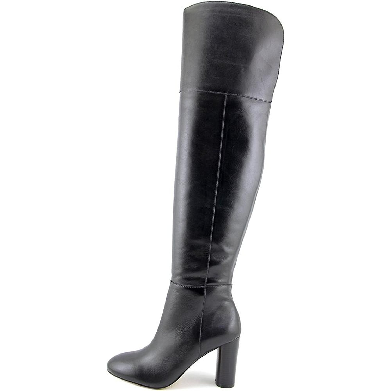 INC International Concepts Damenschuhe Tyliee Knee Leder Almond Toe Over Knee Tyliee Fashion... d38fce