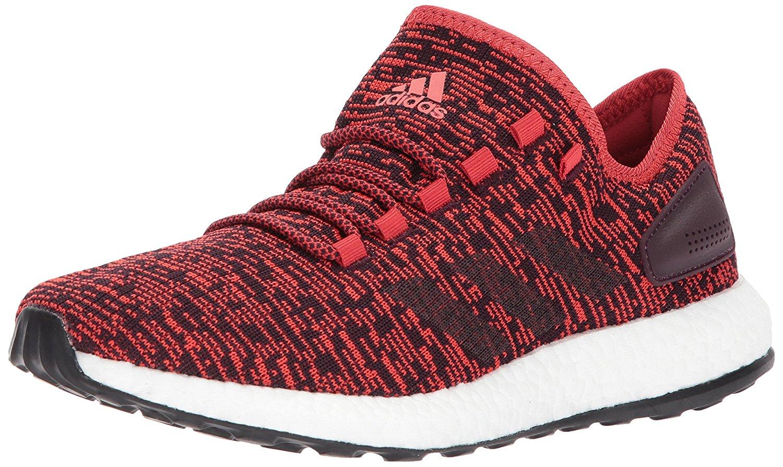 adidas mens pureboost tessuto basso alto pizzo a scarpa, red