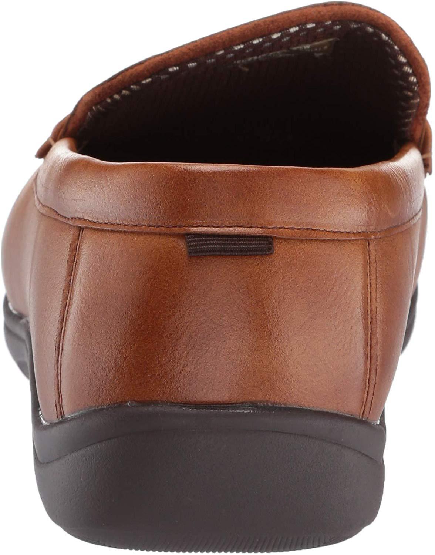 Nunn Bush Men's Brentwood Penny Loafer Slip-On, Cognac, 14 ...