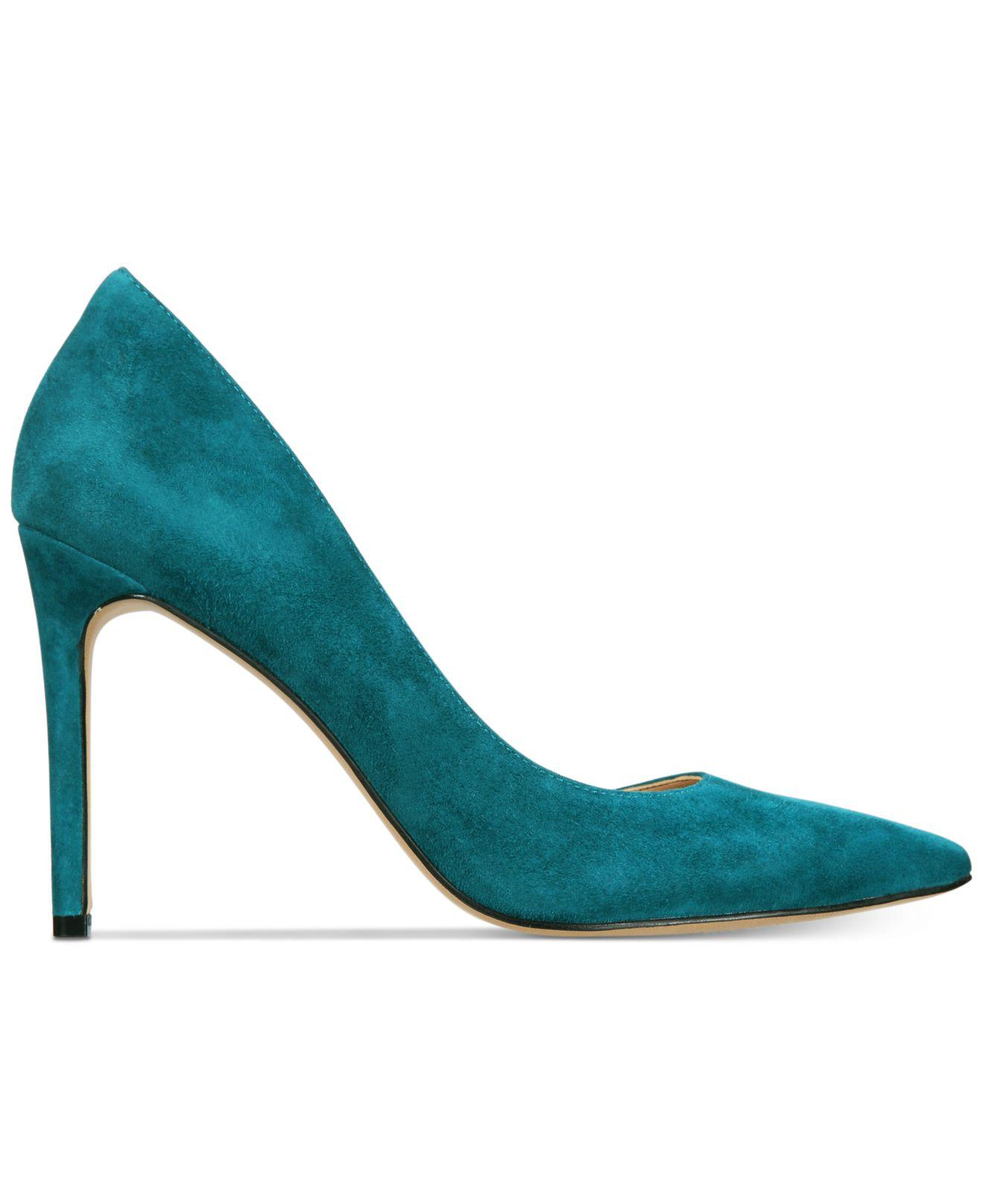 INC-International-Concepts-Womens-Kenjay-Leather-Pointed-Toe-D-orsay-Pumps thumbnail 6