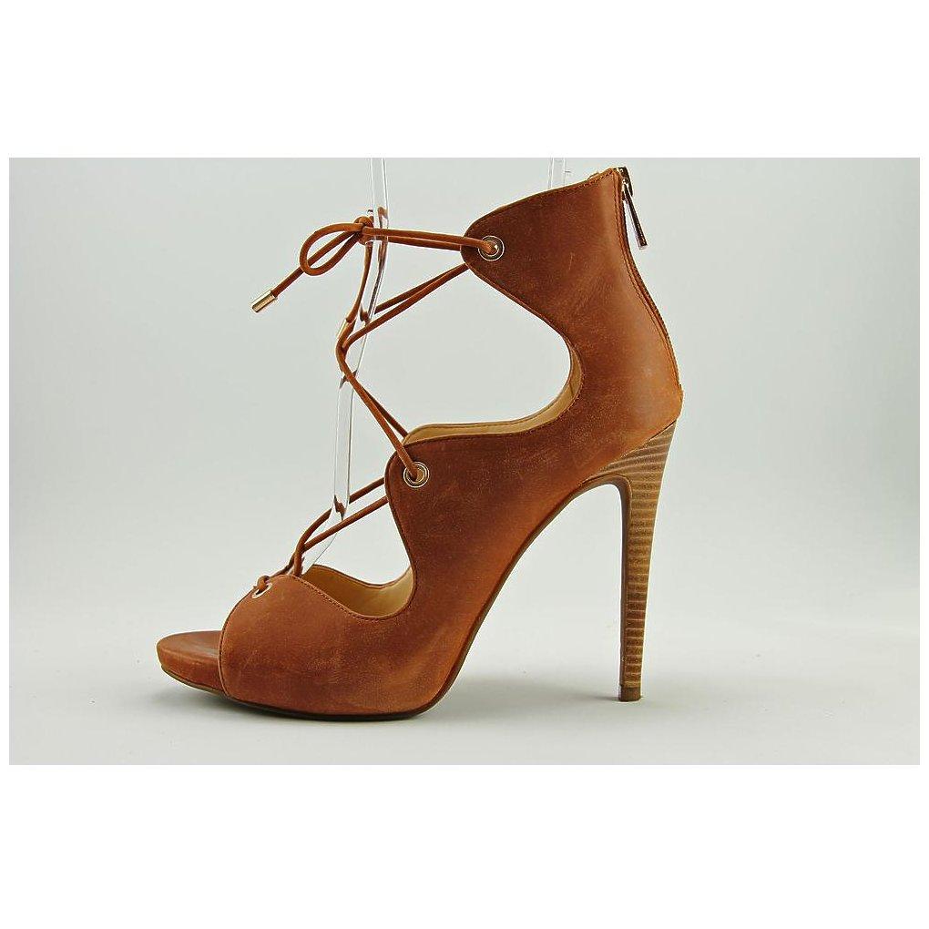 0373f44f289 Jessica Simpson Womens Rollana Leather Peep Toe Special