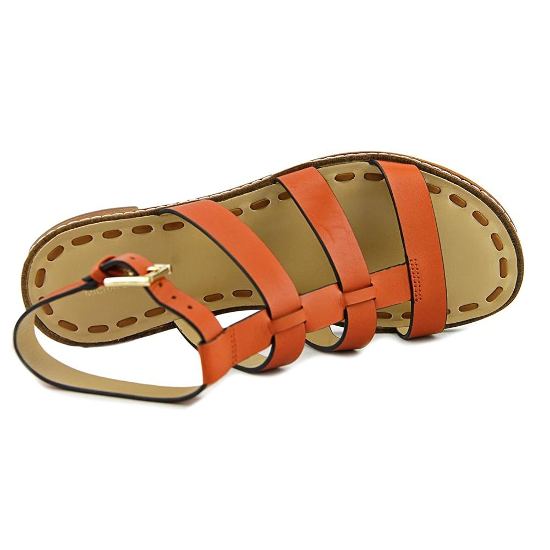 4b8af270a4d MICHAEL Michael Kors Fallon Flat Women Open-Toe Leather